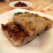 Pan-fried Yam Cake 煎芋头糕