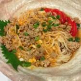 凉拌担担面 Cold Dry Noodles with Spicy Sauce