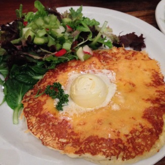 Cheese and Potato Pancake