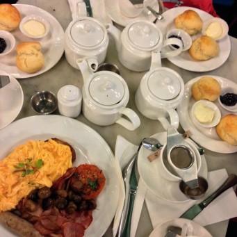 Teas, Scones and a Hopetoun Tea Rooms Big Breakfast