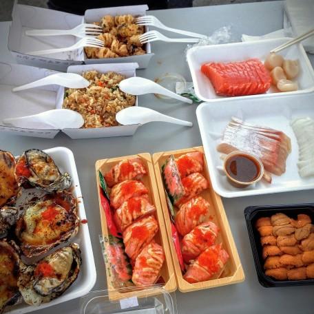 Sumptuous lunch!