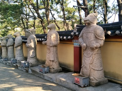 Statues of the 12 Zodiac Signs