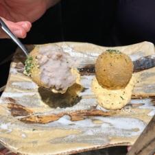 とろとろコロッケ (Toro Toro Korokke) Sweet Potato Croquette