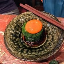 ニラ釜玉 (Nira Kametama) Cooked Leek and Tsukadama Egg