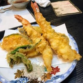 天ぷら盛り合わせ Tempura Moriawase