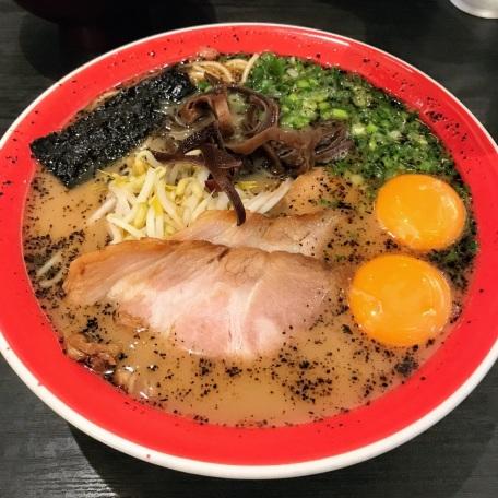 玉子入りラーメン (Tamago Iri Ramen) Ramen with Egg