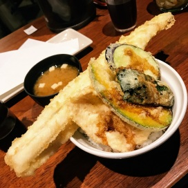 対馬産大穴子天丼 Tsushima Large Anago Tendon